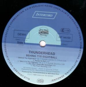 Thunderhead: Behind The Eight-Ball (LP) - Bild 2
