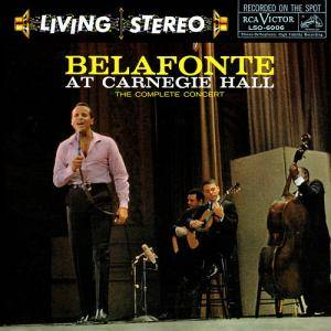 Harry Belafonte: Belafonte At Carnegie Hall - The Complete Concert - Cover