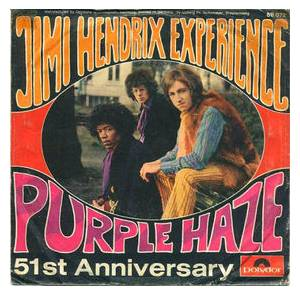 The Jimi Hendrix Experience: Purple Haze - Cover