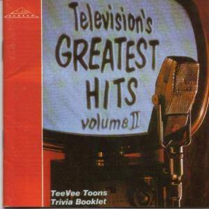 Television's Greatest Hits Volume II - Cover