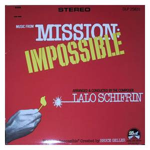 Cover - Lalo Schifrin: Music From Mission: Impossible