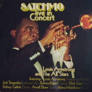 Louis Armstrong & His All-Stars: Satchmo Live In Concert - Cover