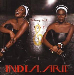 India.Arie: Testimony: Vol. 2, Love & Politics - Cover
