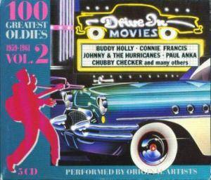 100 Greatest Oldies Vol. 2 1959-1961 - Cover