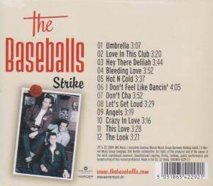 The Baseballs: Strike (CD) - Bild 2