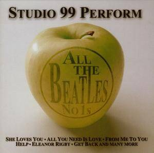 Cover - Studio 99: All The Beatles No.1's