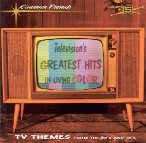 Cover - Ken Lane & Irving Taylor: Television's Greatest Hits Volume 5 - In Living Color