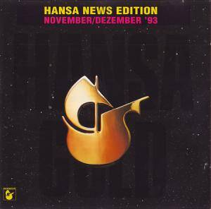Hansa News Edition November/Dezember '93 - Cover