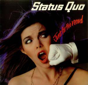 Status Quo: Just For The Record - Cover