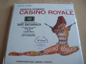 Cover - Burt Bacharach: Casino Royale