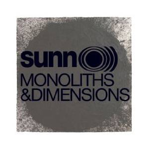 Sunn O))): Monoliths & Dimensions - Cover