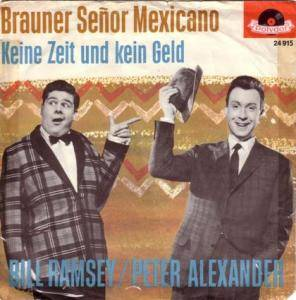 Cover - Peter Alexander & Bill Ramsey: Brauner Senor Mexicano