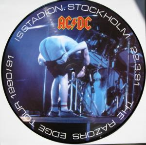 AC/DC: Razors Edge Tour 1990/91, The - Cover