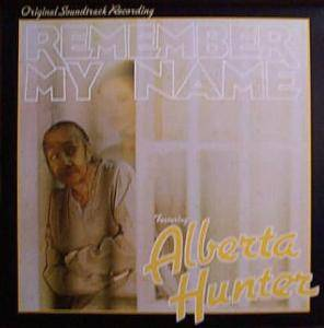 Cover - Alberta Hunter: Remember My Name