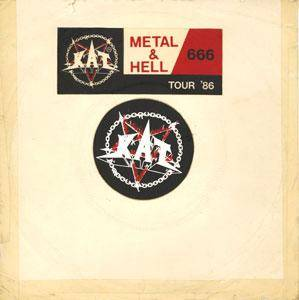 Cover - KAT: Metal & Hell / 666 Tour '86
