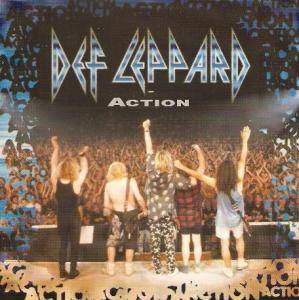 Def Leppard: Action - Cover