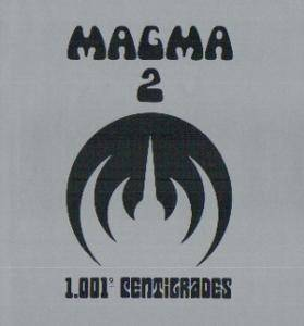 Cover - Magma: 1001° Centigrades