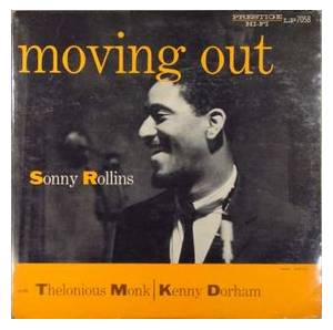 Sonny Rollins: Moving Out - Cover