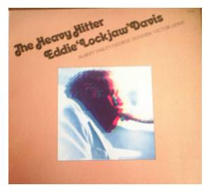 "Cover - Eddie ""Lockjaw"" Davis: Heavy Hitter, The"