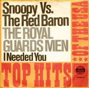 Cover - Royal Guardsmen, The: Snoopy Vs. The Red Baron