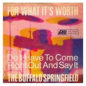 Cover - Buffalo Springfield: For What It's Worth
