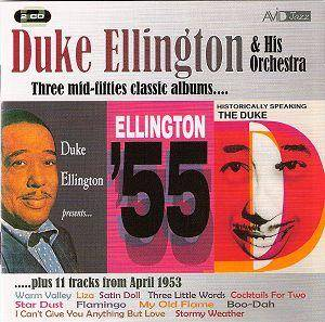 Cover - Duke Ellington: Three Mid-Fifties Classic Albums