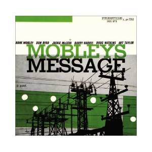 Cover - Hank Mobley: Mobley's Message