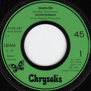 "David Dundas: Jeans On (7"") - Bild 3"