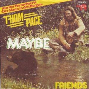Thom Pace: Maybe - Cover