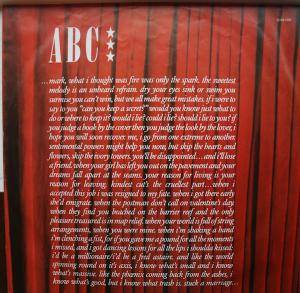 ABC: The Lexicon Of Love (LP) - Bild 5