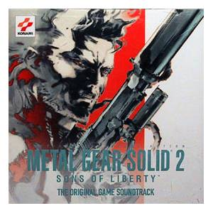 Harry Gregson-Williams: Metal Gear Solid 2: Sons Of Liberty - Cover