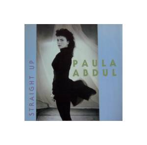 Paula Abdul: Straight Up - Cover