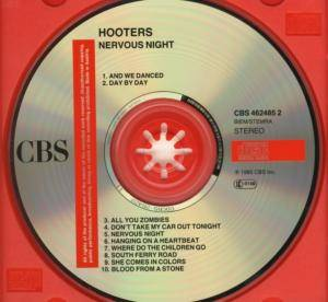 The Hooters: Nervous Night (CD) - Bild 4