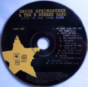 Bruce Springsteen & The E Street Band: Live In New York City (2-CD) - Bild 4
