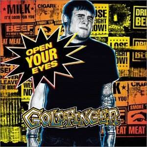 Cover - Goldfinger: Open Your Eyes