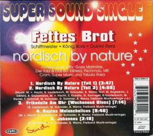 Fettes Brot: Nordisch By Nature (Single-CD) - Bild 2