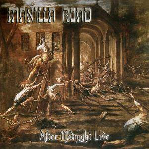 Manilla Road: After Midnight Live - Cover
