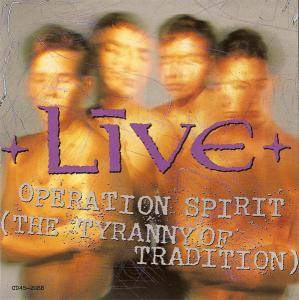 Live: Operation Spirit (The Tyranny Of Tradition) - Cover
