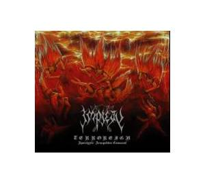 Cover - Impiety: Terroreign - Apocalyptic Armageddon Command