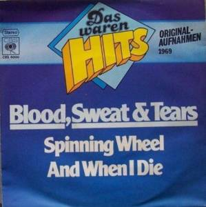 Blood, Sweat & Tears: Spinning Wheel - Cover
