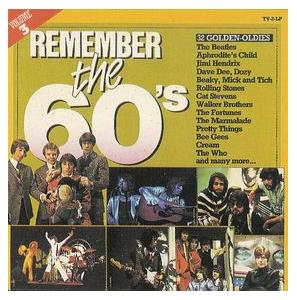 Remember The 60's - Volume 3 - Cover