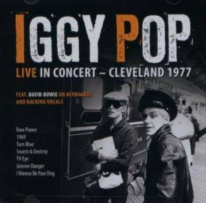 Iggy Pop: Live In Cleveland - 1977 - Cover