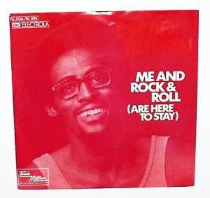 Cover - David Ruffin: Me And Rock & Roll (Are Here To Stay)