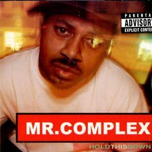 Mr. Complex: Hold This Down - Cover