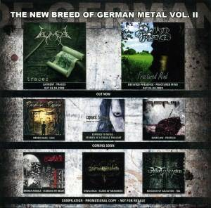 Cover - Exposed To Noise: New Breed Of German Metal Vol. II, The