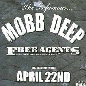Cover - Big Noyd: Free Agents - The Murda Mixtape