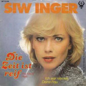 Siw Inger: Zeit Ist Reif (The Tide Is High), Die - Cover