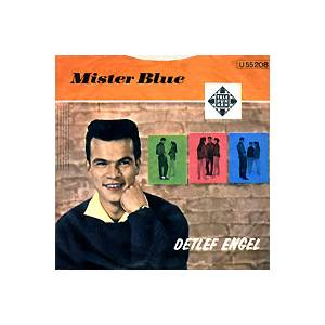 Cover - Detlef Engel & Die Twens: Mister Blue