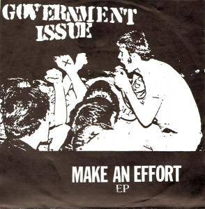 Cover - Government Issue: Make An Effort EP