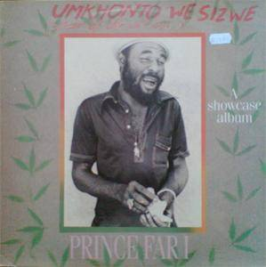 Cover - Prince Far I: Umkhonto We Sizwe (Spear Of The Nation)